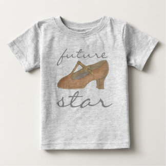 FUTURE STAR Character Dance Dancer Theatre Shoe Baby T-Shirt