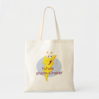 Future Storm Chaser Budget Tote Bag