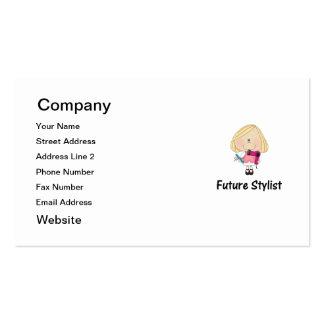 future stylist business card template
