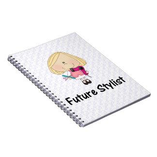 future stylist spiral notebook