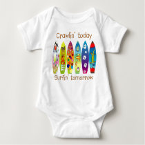 FUTURE SURFER CRAWLER BABY BODYSUIT