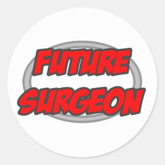 Future Surgeon Classic Round Sticker