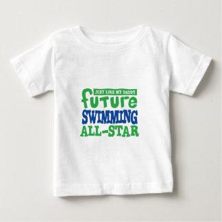 Future Swimming All Star - Boy Baby T-Shirt