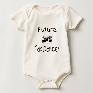 Future Tap Dancer Baby Bodysuit