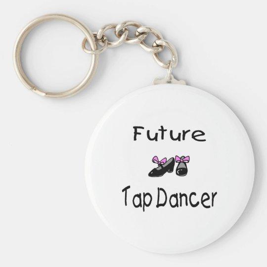 Future Tap Dancer Keychain