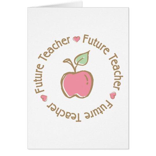 Future Teacher Apple Card