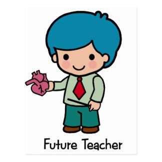 Future Teacher - Boy Postcard