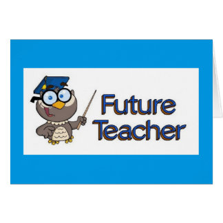 Future Teacher Card