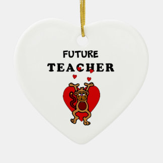 Future Teacher Ceramic Ornament