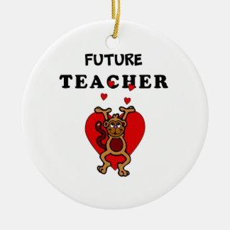 Future Teacher Ceramic Ornament