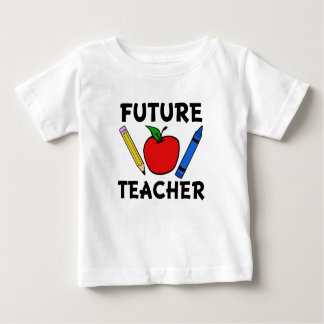 Future Teacher funny baby shirt