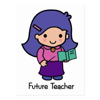Future Teacher - Girl Postcard