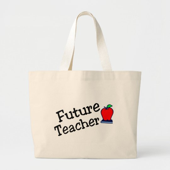 Future Teacher Large Tote Bag