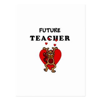 Future Teacher Postcard