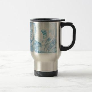 Future technology 3D app concept Coffee Mugs