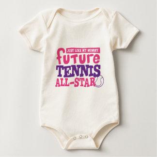 Future Tennis All Star - Girl Romper