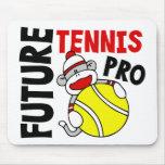 Future Tennis Pro Sock Monkey Mouse Pad