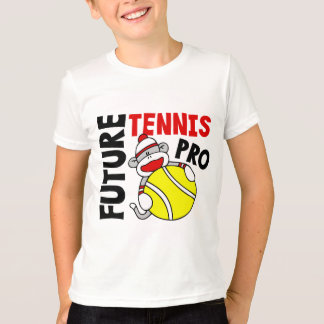Future Tennis Pro Sock Monkey T-Shirt