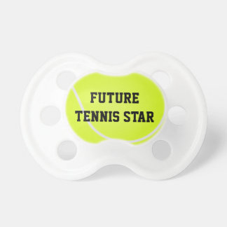 Future Tennis Star Baby Pacifier