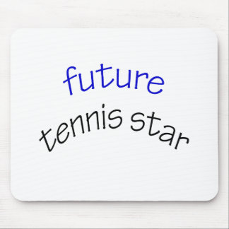 Future Tennis Star Mouse Pad