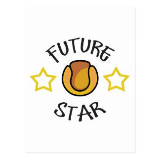 FUTURE TENNIS STAR POSTCARD