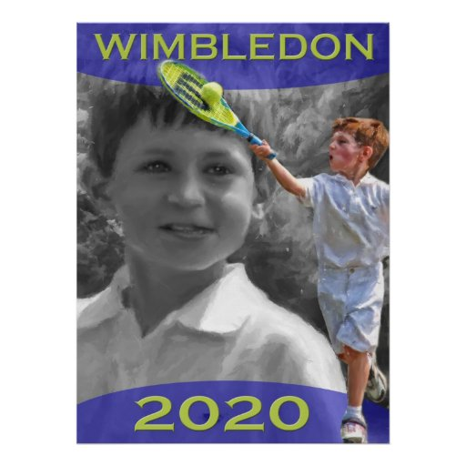 Future Tennis Star Poster