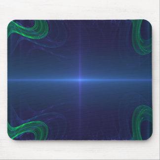 Future Thin Blue Line Mouse Pad