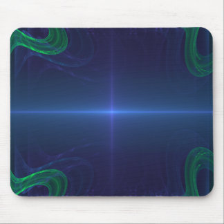 Future Thin Blue Line Mouse Pad