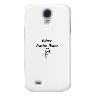 Future Tractor Driver Tractor Gifts Galaxy S4 Cover