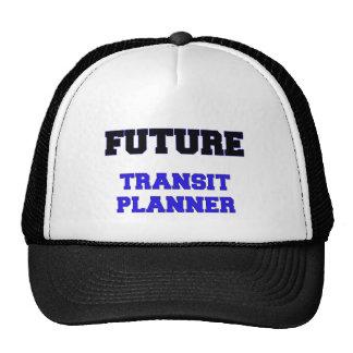 Future Transit Planner Trucker Hats
