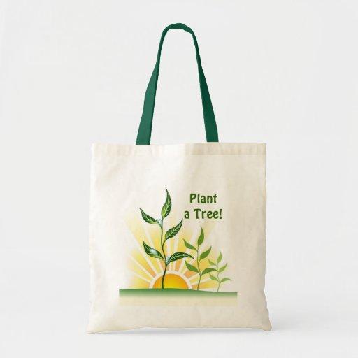 Future Trees Budget Tote Bag