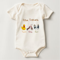 Future Triathlete Baby Bodysuit