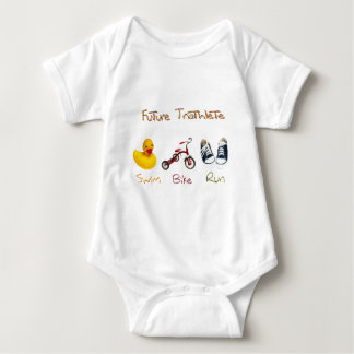 Future Triathlete Baby Bodysuit