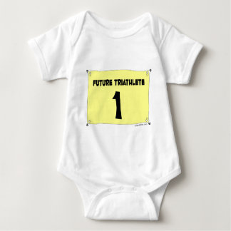 Future Triathlete infant Baby Bodysuit