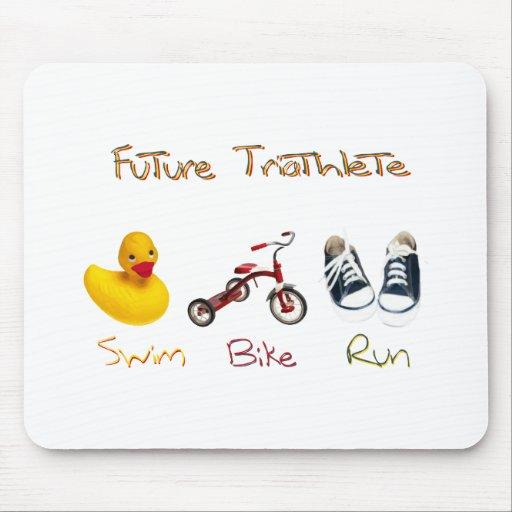 Future Triathlete Mouse Pad