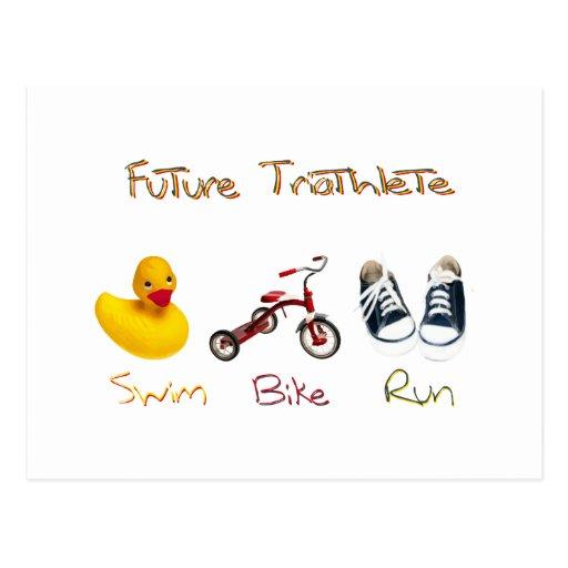 Future Triathlete Postcard
