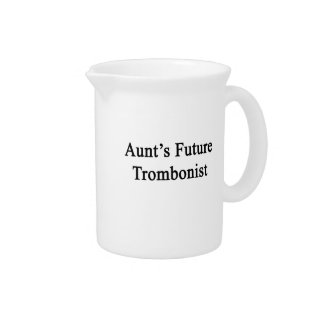 Future Trombonist de tía Jarra Para Bebida