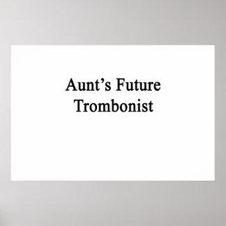 Future Trombonist de tía Póster