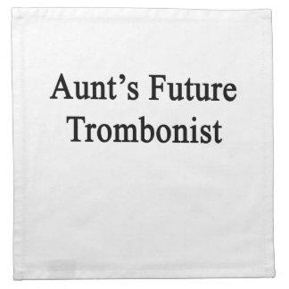 Future Trombonist de tía Servilleta De Papel