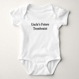 Future Trombonist de tío Mameluco De Bebé