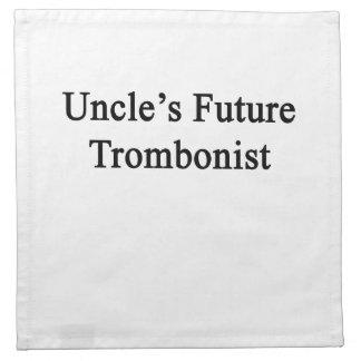 Future Trombonist de tío Servilletas Imprimidas
