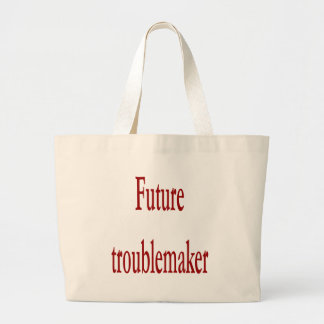 Future Troublemaker Canvas Bags
