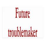 Future Troublemaker Postcard
