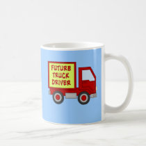 Future Truck Driver Kids Tshirt Coffee Mug