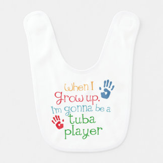 Future tuba Player Baby Bib