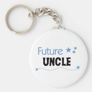 Future Uncle T-shirts and Gifts Keychain