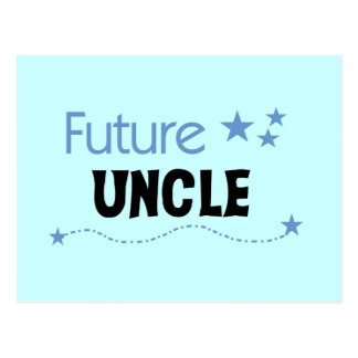 Future Uncle T-shirts and Gifts Postcard