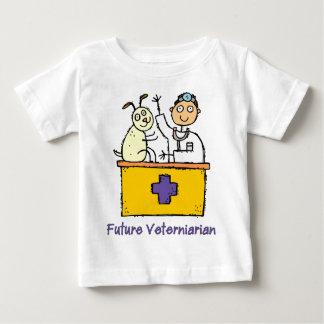 Future Veterinarian - Boy Baby T-Shirt