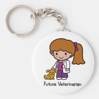 Future Veterinarian - Girl Keychain