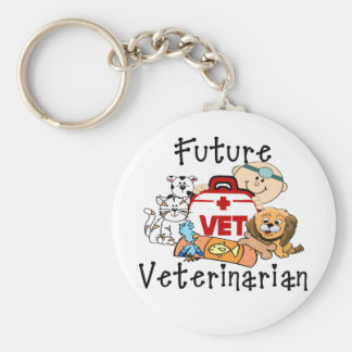 Future Veterinarian Keychain